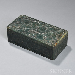 Hardstone Covered Box