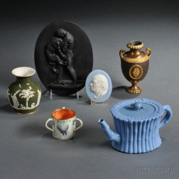 Six Wedgwood Assorted Items