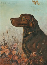 Lynn Bogue Hunt (American, 1878-1960)      Irish Setter