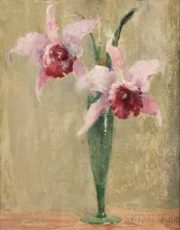 Anna S. Fisher (American, 1873-1942)      Orchids
