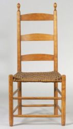 Shaker Cherry and Ash Side Chair
