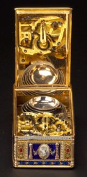 Fine Diamond-set Gold and Enamel Carillon Musical Box Attributed to John Rich