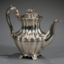 William IV Sterling Silver Teapot