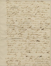 Thoreau, Henry David (1817-1862) Autograph Manuscript Leaf from Cape Cod