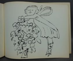 Andy Warhol (American, 1928-1987)      In the Bottom of My Garden  /A Bound Book