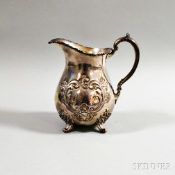 """Poole """"Old English"""" Sterling Silver Water Pitcher"""