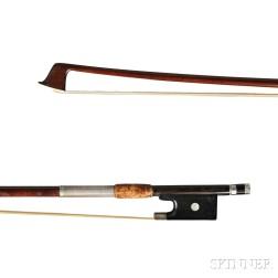 German Silver-mounted Violin Bow
