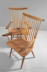 Two George Nakashima (1905-1990) New Chairs