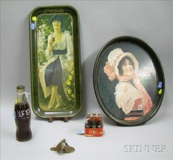 Five Assorted Coca-Cola Collectible Items