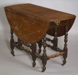 William and Mary Gate-leg Table