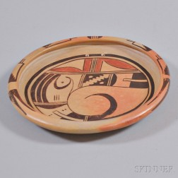 Hopi Polychrome Pottery Bowl Attributed to the Nampeyo Family
