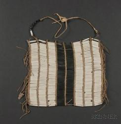 Southern Plains Beaded Hide Breast Plate