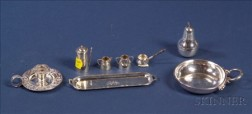 Group of Miniature Sterling Articles