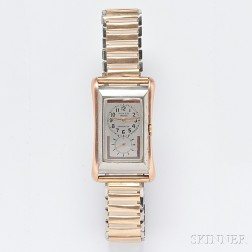 """Gentleman's 9kt Rose Gold and Stainless Steel """"Prince"""" Wristwatch, Rolex"""