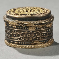 Indian Thewa-work and Silver Box