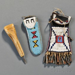 Two Plains Beaded Items