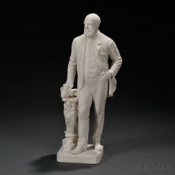 Parian Model of Colin Minton Campbell