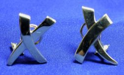 18kt Gold Earclips, Paloma Picasso, Tiffany & Co.
