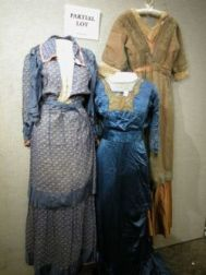 Five Victorian and Edwardian Dresses and Two Coats