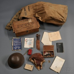Group of WWII Marine Corps Material