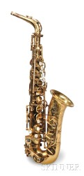 French Alto Saxophone, Henri Selmer, Paris, 1969, Model Mark VI