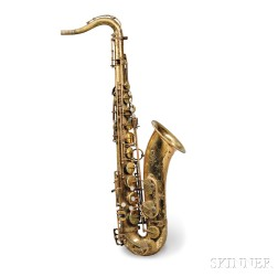 French Tenor Saxophone, Henri Selmer, Paris, 1974, Model Mark VI