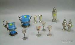 Group of Silver, Silver Plated, and Silver Overlay Tablewares