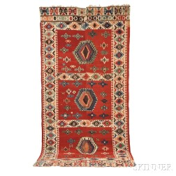 Central Anatolian Kilim Carpet