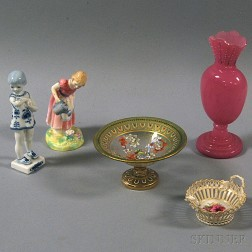 Five Small European Decorative Accessories