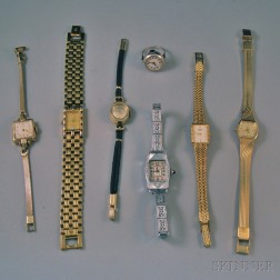 Seven Assorted Vintage Lady's Watches