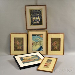 Six Prints and Paintings