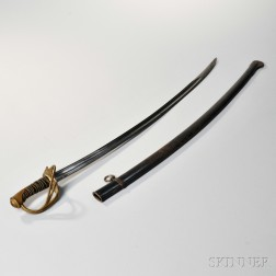 French Cavalry Saber