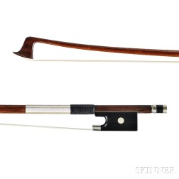 French Nickel-mounted Violin Bow, Cuniot-Hury & Ouchard