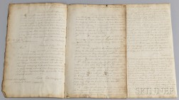 Copy of 1797 British Naval Correspondence