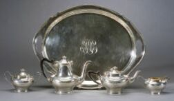 Four-Piece Towle Sterling Tea and Coffee Service