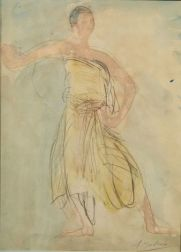 Auguste Rodin (French, 1840-1917)    Cambodian Dancer