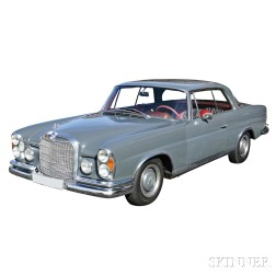 1965 Mercedes 250 Sport Coupe with Sunroof