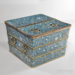 Cloisonne Ice Chest