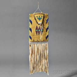 Blackfoot Beaded Hide Bag