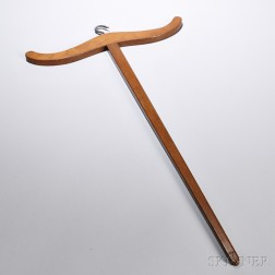 Shaker Maple Clothes Hanger