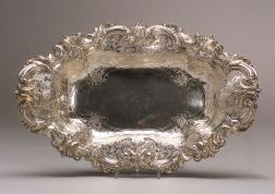 Frank Smith Sterling Bread Tray