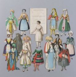 Boxed Set National Costumes by Anson Randolph