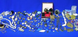 Group of Costume, Silver, and Cameo Jewelry