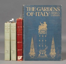 (Gardens), Three Titles in Four Volumes