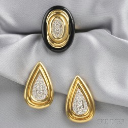 18kt Gold and Diamond Suite, Emis