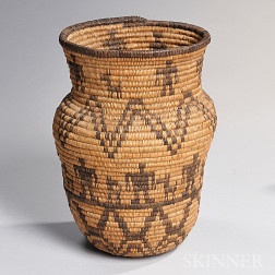 Apache Pictorial Basket