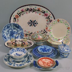 Approximately Twenty-seven Ceramic Items