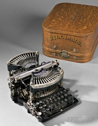 "Williams No. ""1"" Straight Typewriter"