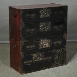 Two-part Tansu Chest