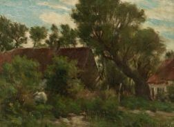 Francis H. Richardson (American, 1859-1934)  Cottages at Camiers